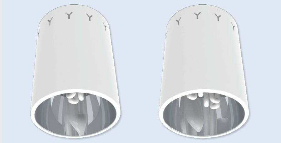 3000 Series - Surface Vertical Downlights