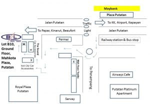 BSL Electrical Outlet Putatan Map