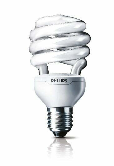 Philips Tornado energy-saving bulbs