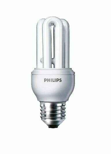 Philips Genie energy saving light bulbs