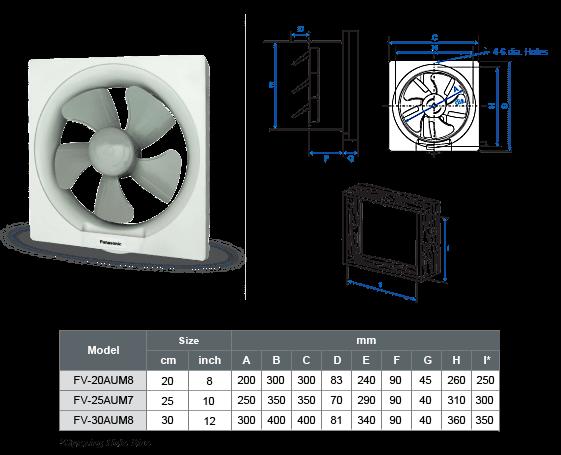 Panasonic Fan Fv 30aum8 Bsl Electrical Stores