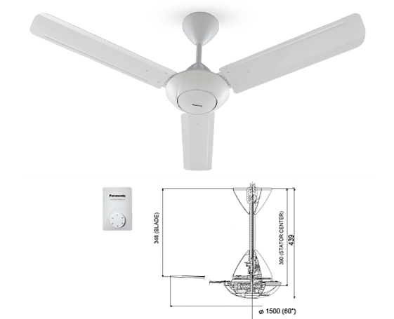 Panasonic Regulator Fan F-M12A0 Specs